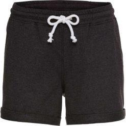 Spodenki dresowe bonprix czarny melanż. Spodnie dresowe damskie marki bonprix. Za 54.99 zł.