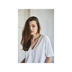 VIVIAN BIAŁY t-shirt. Białe t-shirty damskie Gau great as you, z bawełny. Za 149.00 zł.