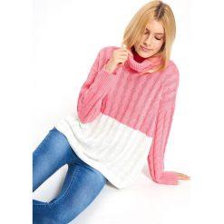 35186a46e4 SWETER GOLF DŁUGI RĘKAW DAMSKI LUŹNY. Swetry damskie marki TROLL. W  wyprzedaży za 49.99