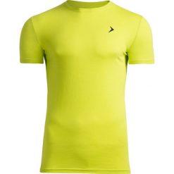 T-shirt męski TSM601 - soczysta zieleń - Outhorn. Zielone t-shirty męskie Outhorn, na lato, z bawełny. W wyprzedaży za 29.99 zł.