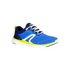 Buty męskie do szybkiego marszu Soft 540 Mesh niebiesko-żółte. Niebieskie buty sportowe męskie NEWFEEL, z gumy. Za 129.99 zł.