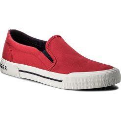 Tenisówki TOMMY HILFIGER - Heritage Textile Slip On Sneaker FM0FM01359 Tango Red 611. Trampki męskie marki Converse. W wyprzedaży za 199.00 zł.