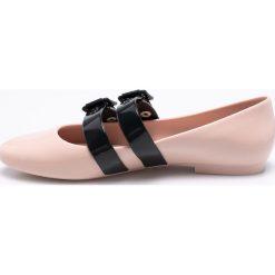 Melissa - Baleriny Vivienne Westwood Anglomania. Szare baleriny damskie Melissa, z gumy. W wyprzedaży za 459.90 zł.