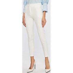 Answear - Spodnie. Szare spodnie materiałowe damskie ANSWEAR, z elastanu. W wyprzedaży za 69.90 zł.