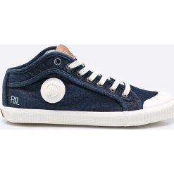Pepe Jeans - Tenisówki Industry Blue Denim. Niebieskie trampki męskie Pepe Jeans, z denimu. W wyprzedaży za 199.90 zł.