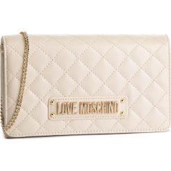 Torebka LOVE MOSCHINO - JC4118PP17LA0110 Avorio. Brązowe torebki do ręki damskie Love Moschino, ze skóry ekologicznej. Za 479.00 zł.