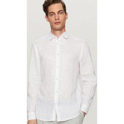 0db32bf468 Lniana koszula regular fit - Biały. Koszule męskie marki Reserved. Za  139.99 zł.