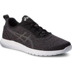Buty ASICS - Kanmei 2 1021A011 Black/Black 001. Czarne buty sportowe męskie Asics, z materiału. Za 249.00 zł.