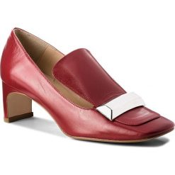 Półbuty EVA MINGE - Basauri 3H 18CP1372351ES 108. Czerwone półbuty damskie Eva Minge, ze skóry ekologicznej, eleganckie. W wyprzedaży za 319.00 zł.