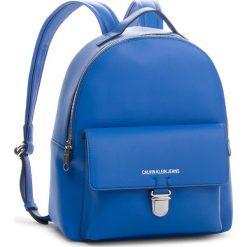 Plecak CALVIN KLEIN JEANS - Sculpted Cp Bp 30 K40K400651 455. Niebieskie plecaki damskie Calvin Klein Jeans, z jeansu. Za 699.00 zł.