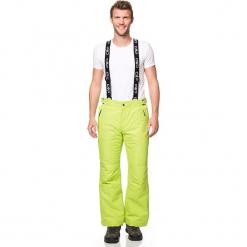 Spodnie narciarskie w kolorze zielonym. Spodnie snowboardowe męskie marki WED'ZE. W wyprzedaży za 272.95 zł.