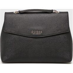 Guess Jeans - Torebka. Czarne torby na ramię damskie Guess Jeans. Za 599.90 zł.