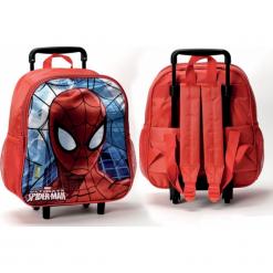 Coriex Spiderman plecak z kółkami M95240. Różowe torby i plecaki dziecięce Coriex. Za 97.90 zł.