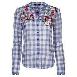 Desigual Koszula Damska Cabaceira M Niebieski. Niebieskie koszule damskie Desigual, z materiału. Za 350.00 zł.