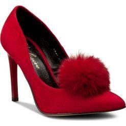 Szpilki ROBERTO - 541 Czerwony Wel. Czerwone szpilki damskie Roberto, ze skóry. W wyprzedaży za 189.00 zł.