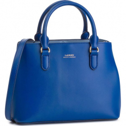 Torebka LAUREN RALPH LAUREN - Dryden 431719699007 Cosmic Blu. Niebieskie torebki do ręki damskie Lauren Ralph Lauren, ze skóry. Za 1,209.00 zł.