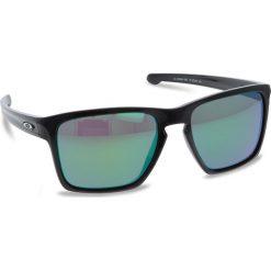 Okulary przeciwsłoneczne OAKLEY - Sliver XL OO9341-1957 Polished Black/Prizm Jade Iridium. Czarne okulary przeciwsłoneczne męskie Oakley, z tworzywa sztucznego. W wyprzedaży za 479.00 zł.
