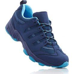 Buty trekkingowe bonprix ciemnoniebiesko-turkusowy. Niebieskie buty sportowe męskie bonprix. Za 89.99 zł.