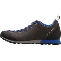 Scarpa HIGHBALL  Obuwie hikingowe shark/turkish blue. Buty sportowe męskie Scarpa, z materiału, outdoorowe. Za 549.00 zł.