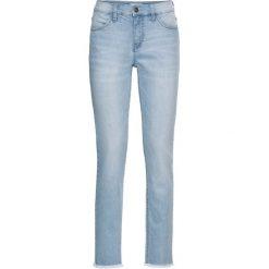 """Dżinsy """"authentic-stretch"""" CLASSIC 7/8 bonprix jasnoniebieski. Jeansy damskie marki bonprix. Za 89.99 zł."""
