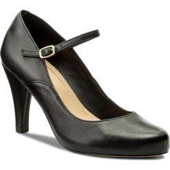 Półbuty CLARKS - Dalia Lily 261332714 Black Leather. Półbuty damskie marki Clarks. W wyprzedaży za 269.00 zł.