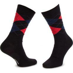 Skarpety Wysokie Męskie DOTS SOCKS - DTS-SX-232-X Czarny Kolorowy. Czarne skarpety męskie Dots Socks, w kolorowe wzory, z bawełny. Za 19.90 zł.