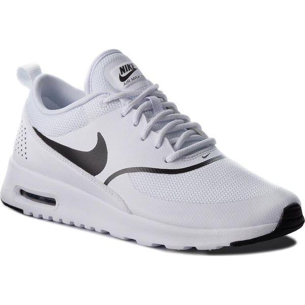 nike air max thea buty sportowe damskie białe