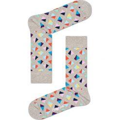 Happy Socks - Skarpety Pyramid. Szare skarpety męskie Happy Socks. W wyprzedaży za 27.90 zł.