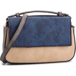 Torebka MENBUR - 44951  Blue 0055. Brązowe torby na ramię damskie Menbur. W wyprzedaży za 169.00 zł.