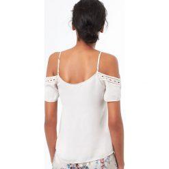 Etam - Top piżamowy Mimosa. Piżamy damskie marki MAKE ME BIO. W wyprzedaży za 69.90 zł.