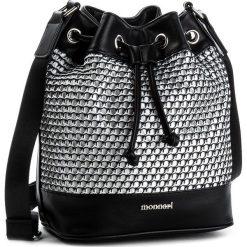 Torebka MONNARI - BAG5830-020 Black. Czarne torebki do ręki damskie Monnari, z materiału. W wyprzedaży za 109.00 zł.