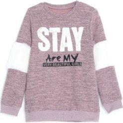 Różowa Bluza Gind. Czerwone bluzy dla dziewczynek Born2be, na jesień. Za 49.99 zł.