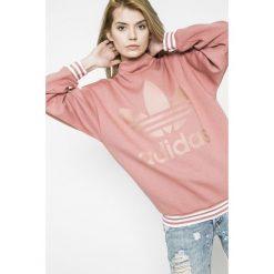 Adidas Originals - Bluza. Szare bluzy damskie adidas Originals, z nadrukiem, z bawełny. W wyprzedaży za 239.90 zł.