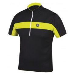 Etape Koszulka Na Rower Face Black/Yellow Fluo Xxl. Czarne koszulki sportowe męskie Etape, z krótkim rękawem. Za 149.00 zł.