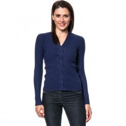 Sweter w kolorze granatowym. Niebieskie swetry damskie Assuili, z kaszmiru. W wyprzedaży za 113.95 zł.