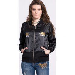 Medicine - Kurtka bomber Urban Uniform. Czarne kurtki damskie MEDICINE, z materiału. W wyprzedaży za 99.90 zł.