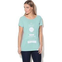 Colour Pleasure Koszulka CP-034 231 miętowa r. M/L. T-shirty damskie Colour Pleasure. Za 70.35 zł.