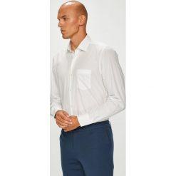 Pierre Cardin - Koszula. Szare koszule męskie Pierre Cardin, z bawełny, z klasycznym kołnierzykiem, z długim rękawem. W wyprzedaży za 219.90 zł.