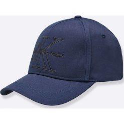 Calvin Klein Jeans - Czapka. Szare czapki i kapelusze damskie Calvin Klein Jeans, z bawełny. W wyprzedaży za 119.90 zł.