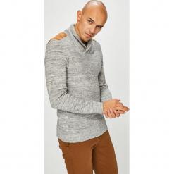 Medicine - Sweter Scottish Modernity. Szare swetry przez głowę męskie MEDICINE, z bawełny. Za 169.90 zł.