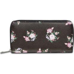Mały portfel w kwiatowy deseń bonprix czarny. Portfele damskie marki WED'ZE. Za 34.99 zł.