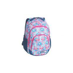 Plecak Szkolny Lekki Paso Flaming Duży. Szare torby i plecaki dziecięce PASO, z materiału. Za 89.00 zł.