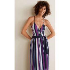 Mango - Sukienka Aire. Szare sukienki damskie Mango, z materiału, casualowe, na ramiączkach. Za 229.90 zł.
