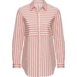 Bluzka w paski bonprix jasny koralowy - biały w paski. Bluzki damskie marki Colour Pleasure. Za 44.99 zł.