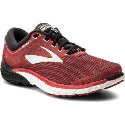 Buty BROOKS - PureCadence 7 110274 1D 673 Red/Black/Silver. Czerwone buty sportowe męskie Brooks, z materiału. W wyprzedaży za 369.00 zł.
