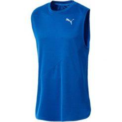 Puma Koszulka Męska Ignite Singlet Mono Strong Blue S. Niebieskie koszulki sportowe męskie Puma. Za 99.00 zł.