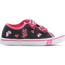 Czarne Trampki Pink Mountain. Czarne buty sportowe dziewczęce Born2be, z denimu. Za 29.99 zł.