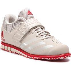 Buty adidas - Powerlift.3.1 CQ1773 Chalk Pearl/Chalk Pearl/Scarlet. Brązowe buty sportowe męskie Adidas, z materiału. Za 399.00 zł.