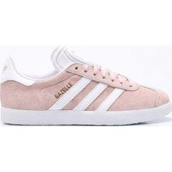 Adidas Originals - Buty Gazelle. Szare obuwie sportowe damskie adidas Originals, z gumy. W wyprzedaży za 329.90 zł.