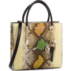 Torebka KAZAR - Lexie 32941-08-27 Beige/Brown. Brązowe torebki do ręki damskie Kazar, ze skóry. Za 1,199.00 zł.